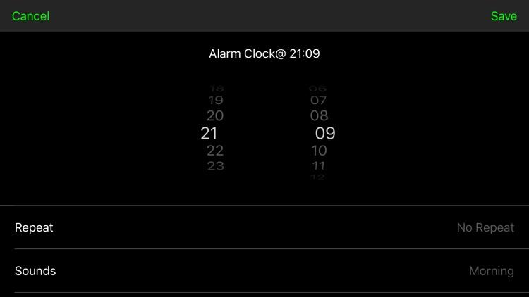 Digital Alarm Clock - Simple screenshot-4