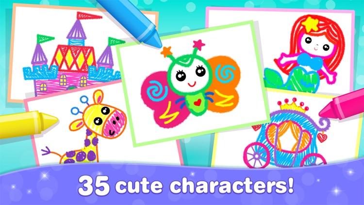 Games for Girls! Kids Drawing! screenshot-6