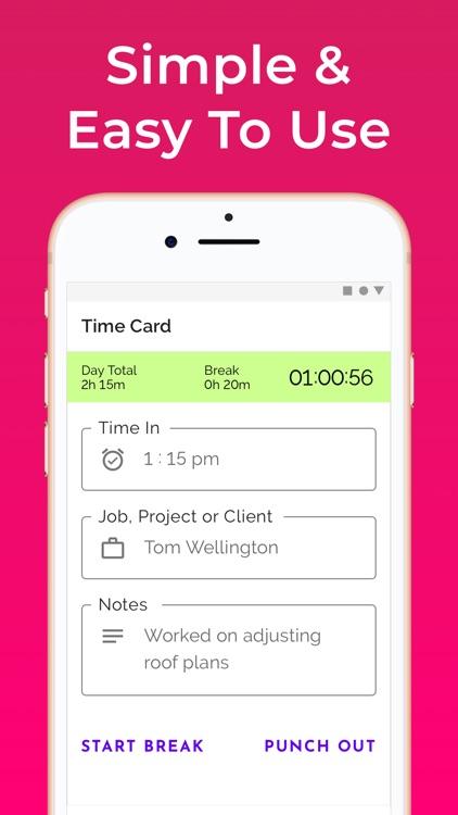 Hours Tracker: Work Timesheets screenshot-5