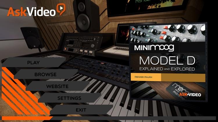 Minimoog Model D Course By mPV