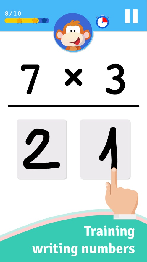 Learn Math With Timmy App 截图