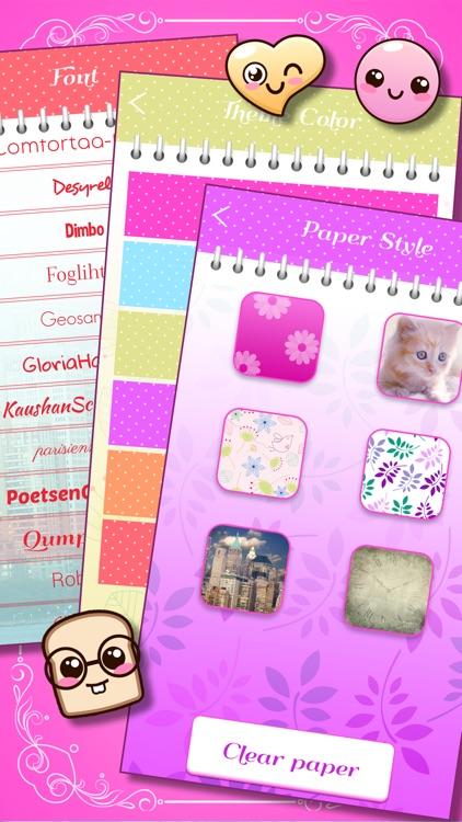 Talia: Secret Diary Notes