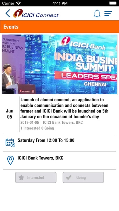 ICICI Alumni Connect for Windows