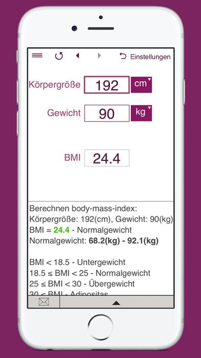 KalorienbedarfsrechnerScreenshot von 6