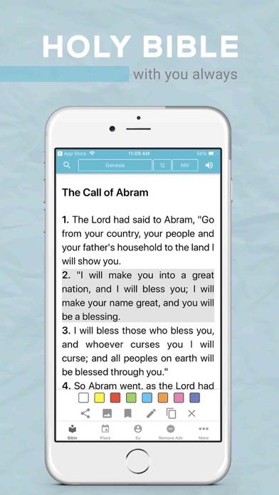 Screenshot #1 pour Bible Offline JFA