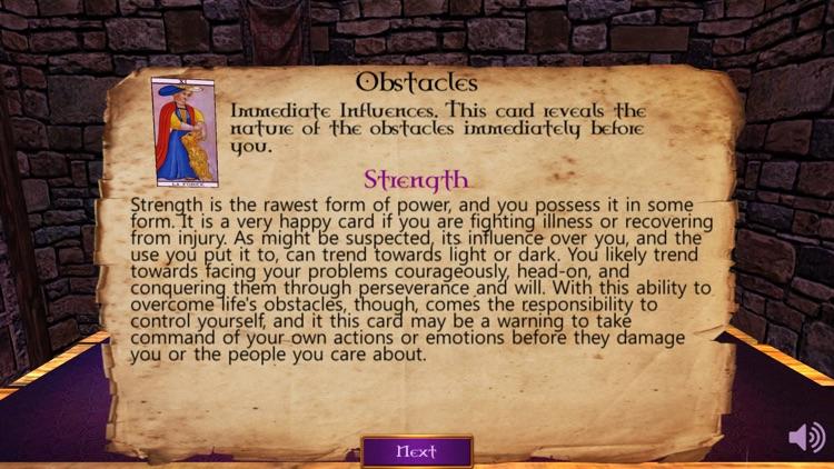 Tarot Card Reading 3D screenshot-3