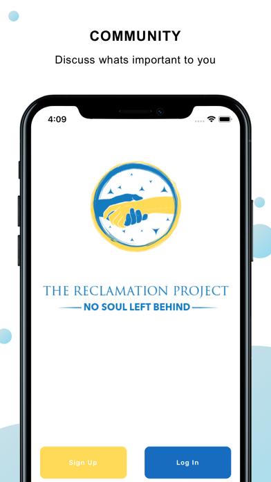 Reclamation Project screenshot #2