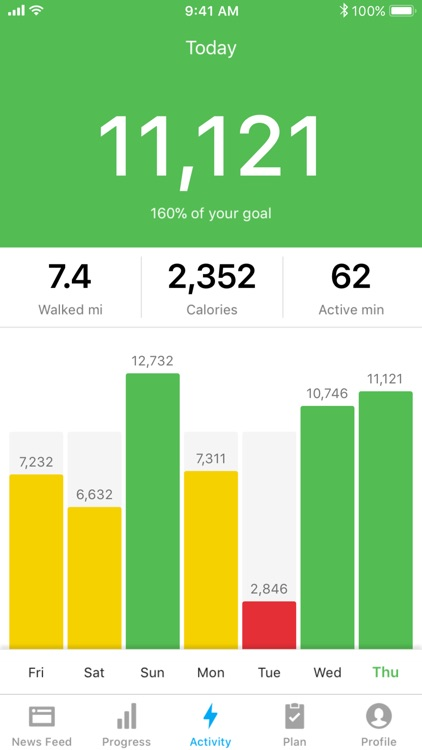 Runtastic Steps - Pedometer screenshot-4