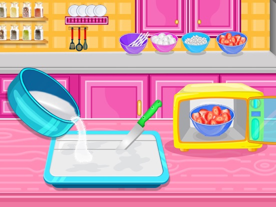 Strawberry Pops Cooking Games screenshot 10
