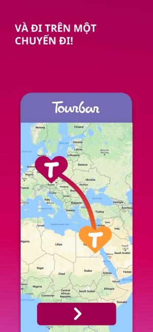 Tourbar - Gặp gỡ và du lịch