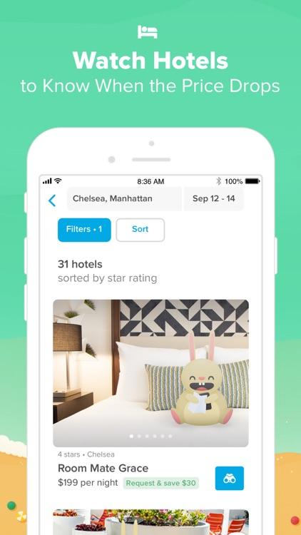 Hopper - Book Flights & Hotels screenshot-6