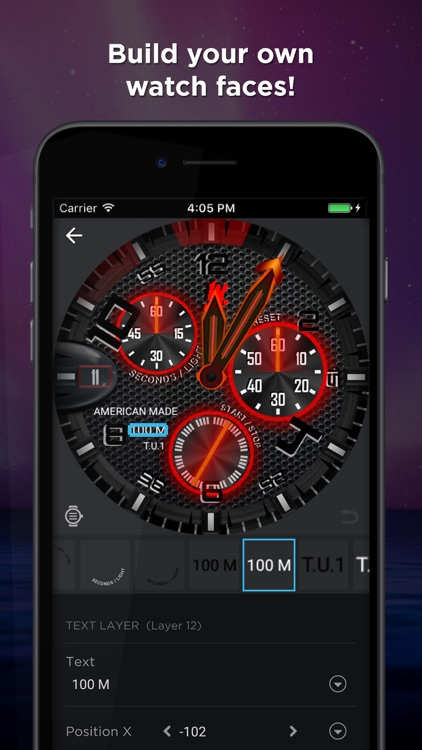 Watch Faces 100,000 WatchMaker screenshot-3