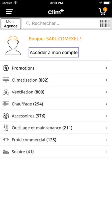 Screenshot #1 pour CLIM+