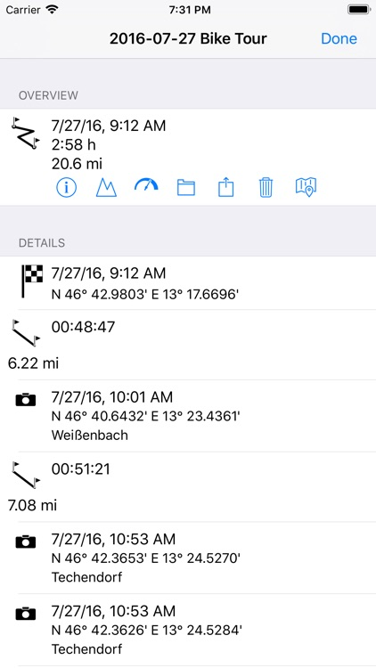 myTracks - The GPS-Logger