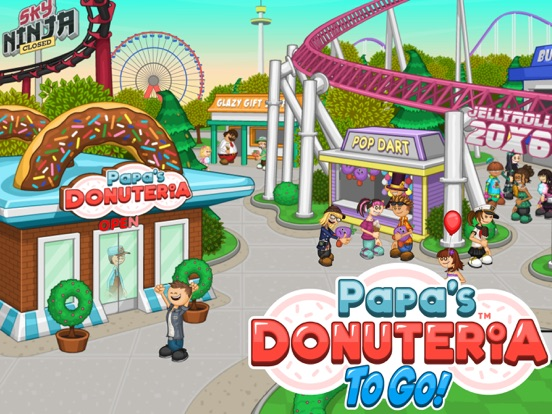 Papa's Donuteria To Go! screenshot 6