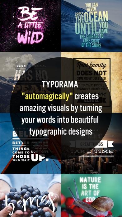 Typorama: Text on Photo Editor Screenshot