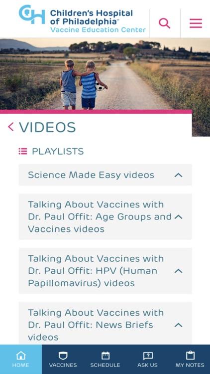 Vaccines on the Go screenshot-5