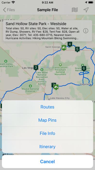 Road Trip Planner™ Screenshot