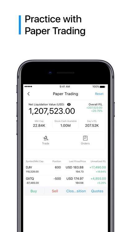 Webull: Trade. Save. Invest. screenshot-3