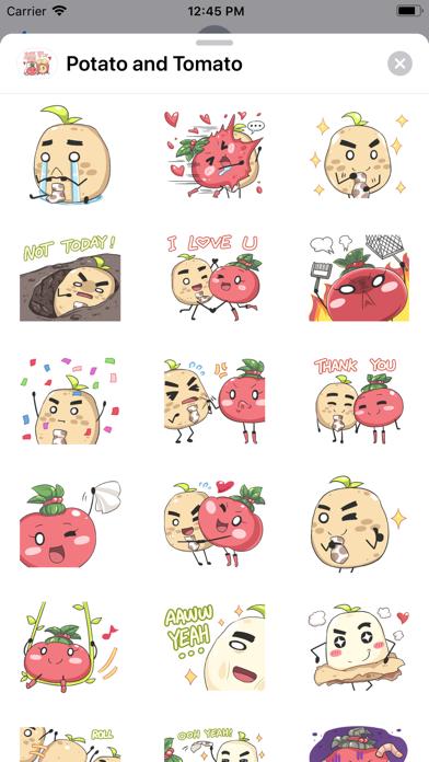 Potato and Tomato screenshot 1