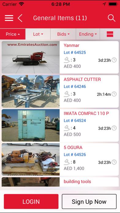 Screenshot #3 pour Emirates Auction