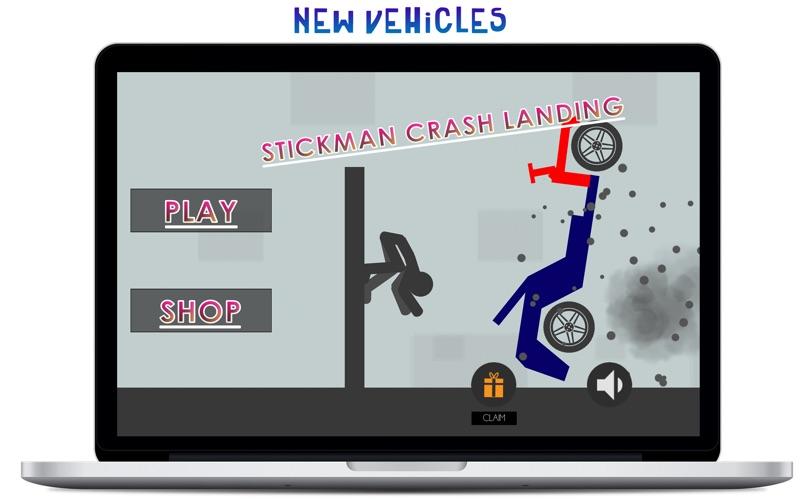 Stickman Crash Landing for Mac