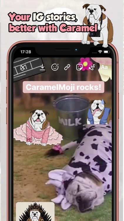 CaramelMoji - Bulldog Stickers screenshot-6