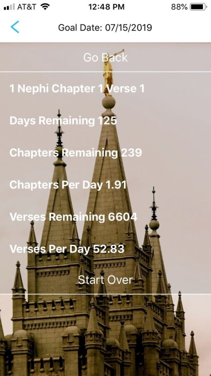 Book of Mormon Pace Tracker
