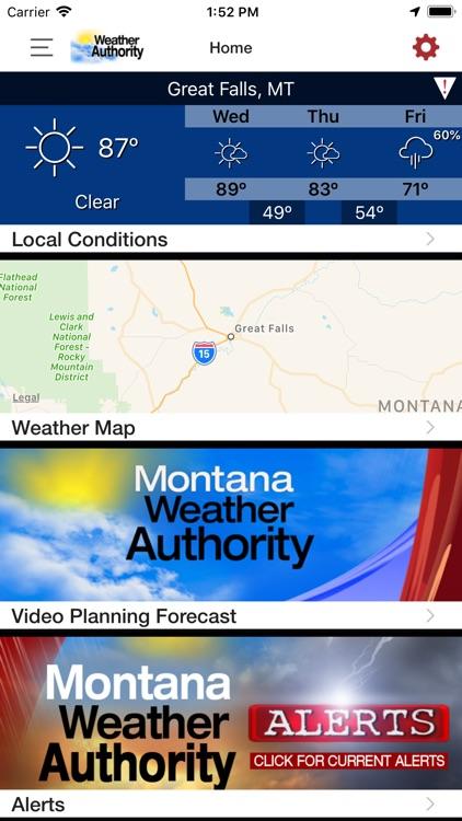Montana Weather Authority screenshot-4