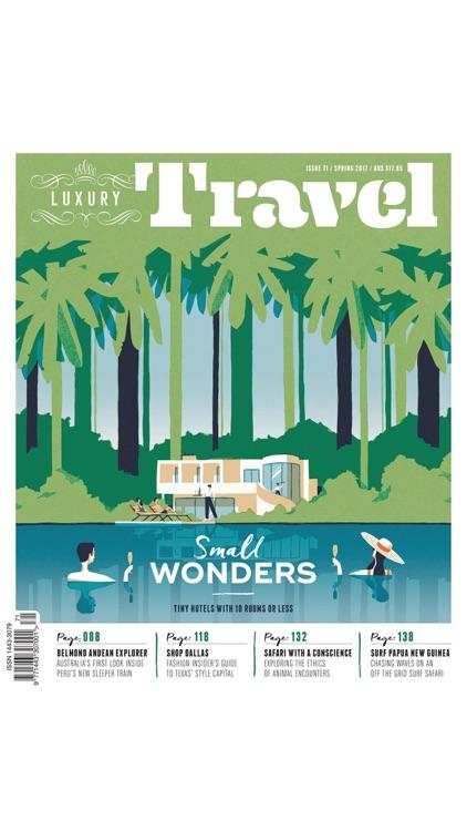 Luxury Travel Magazine screenshot-6