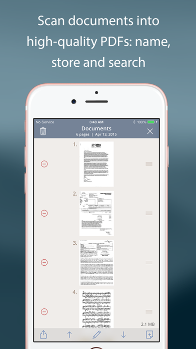 TurboScan™ Pro: PDF scanner Screenshot on iOS