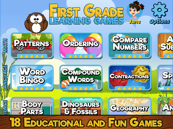 First Grade Learning Games-ipad-0