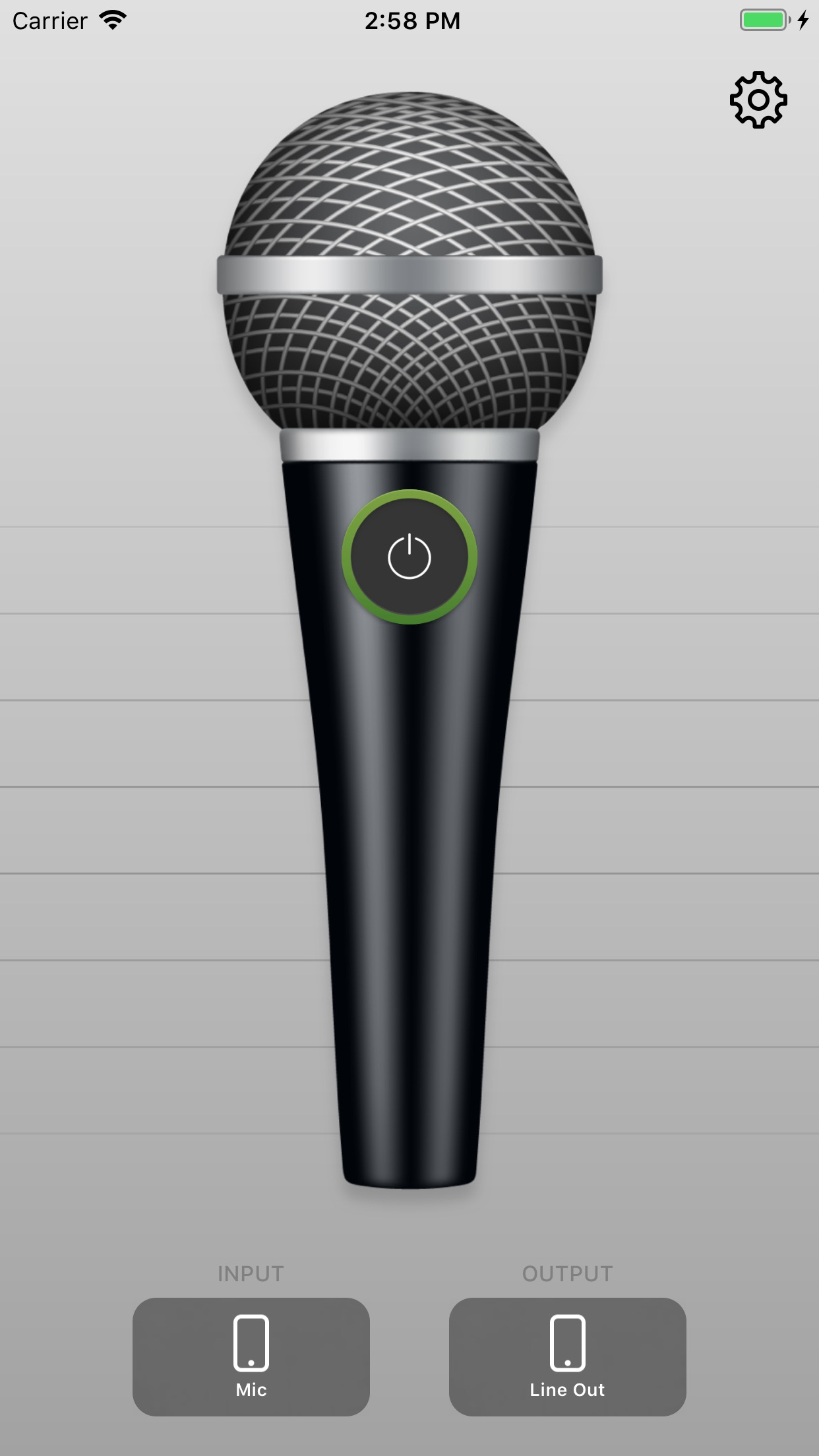 Megaphone: Voice Amplifier Screenshot