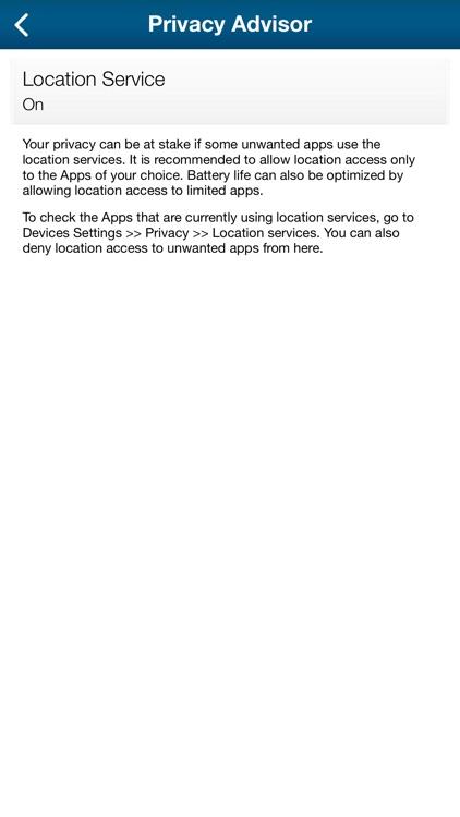 eScan Mobile Security screenshot-5
