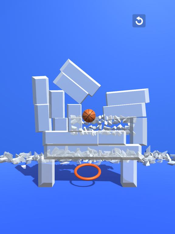 Through the Hoop - Tap & Break screenshot 8