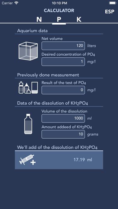 Screenshot #2 pour Calculator NPK