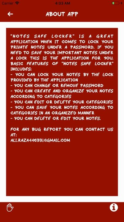 Notes Safe Locker screenshot-9