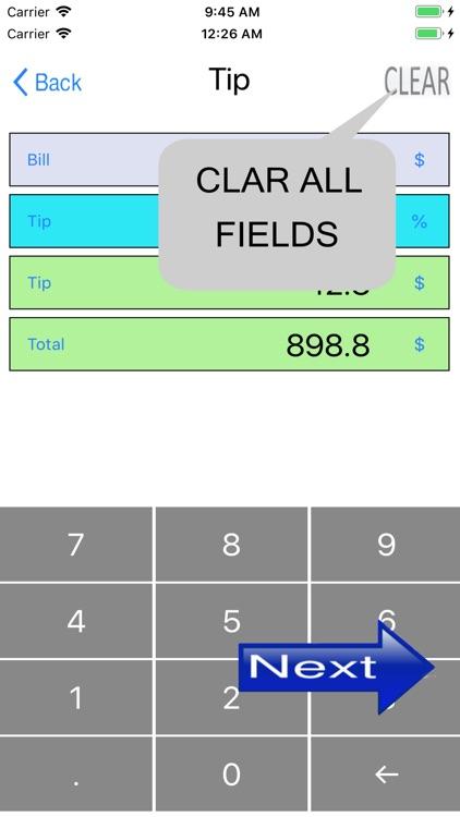 Simple percentage calculator screenshot-7