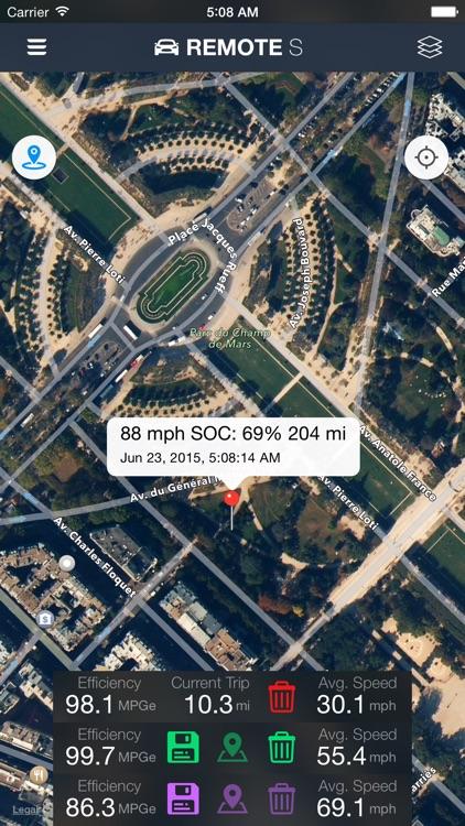 Remote for Tesla screenshot-3