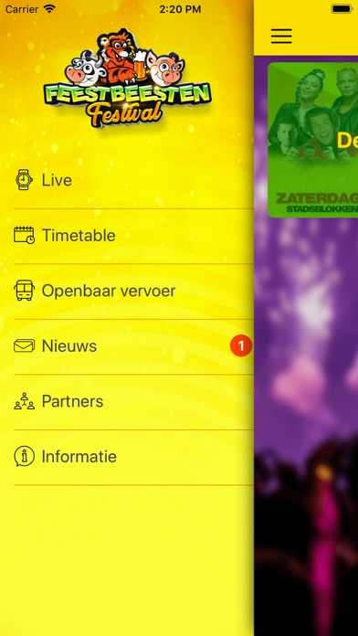 Feestbeesten Festival screenshot #1