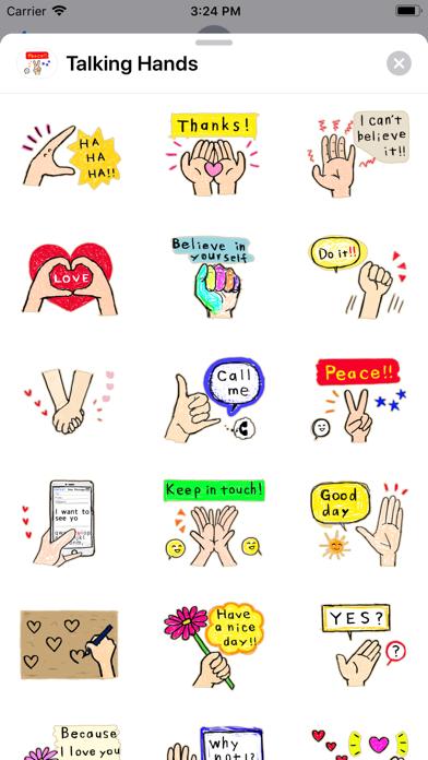 Talking - Hands screenshot 1