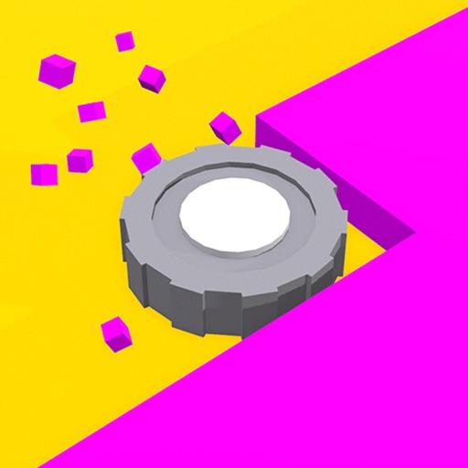 Color Saw 3D app logo