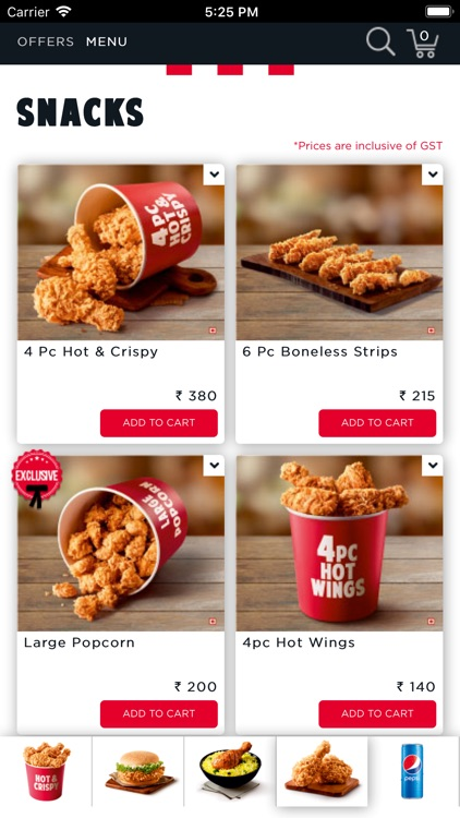KFC online food ordering screenshot-4
