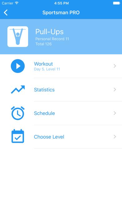 Sportsman  Bodyweight Workout  by Axiom Mobile LLC (iOS