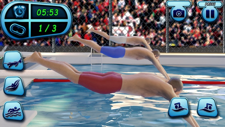 Swimming Pool Race Stunts 2020