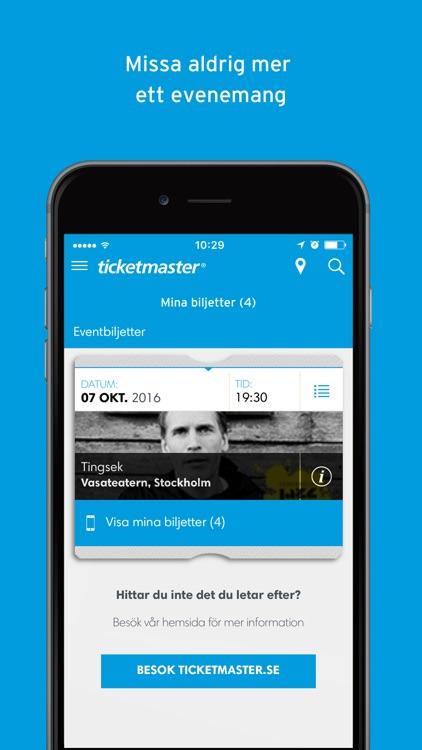 Ticketmaster Sverige