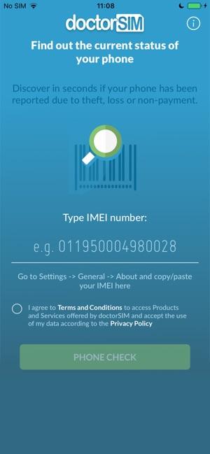 IMEI Blacklist on the App Store