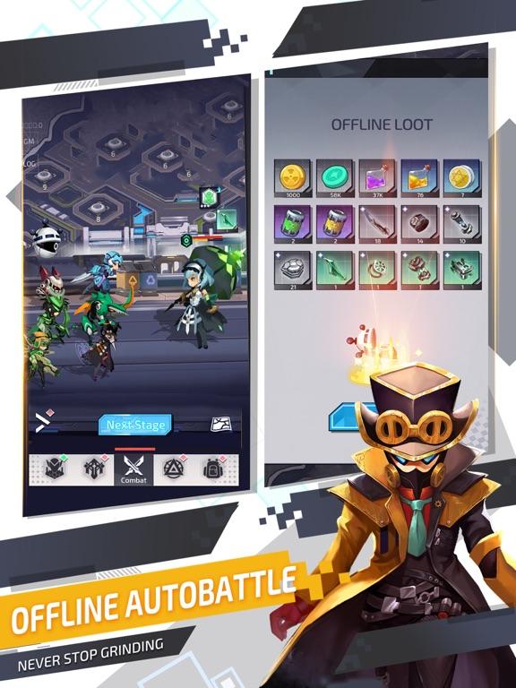 Ipad Screen Shot Nova Heroes 2