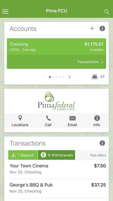Pima Federal CU Mobile