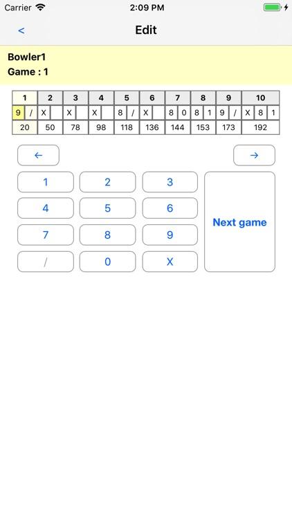 My Bowling screenshot-3